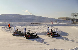 Кубок Лада-спорт по зимнему картингу